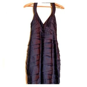 BEBE ROCKER LITTLE BLACK DRESS